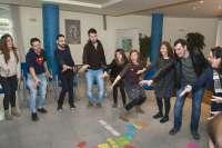 Un total de 25 jóvenes de 13 países europeos realizan en Pamplona un curso del Servicio Voluntario Europeo de Erasmus+