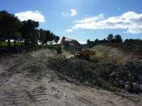 Las obras en la carretera que une Valmadrid y La Puebla de Albortón obligarán a cortar la vía desde el lunes