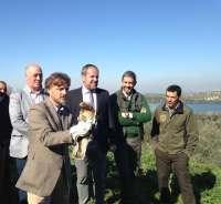 La Diputación y la Junta promueven la reforestación de la Laguna de Zóñar en Aguilar de la Frontera