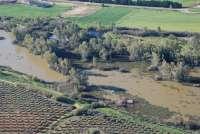 La CHG realiza vuelos sobre el río Guadiana en la provincia de Badajoz para identificar rodales existentes de camalote