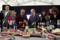 Arranca en la Diputación la II Feria de Vinos e Ibéricos de la Provincia con catas y degustaciones