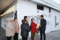 IU-CA apoya el club El Abrigo de la Tercera Edad proyectado junto al mercado del Tiro de Línea
