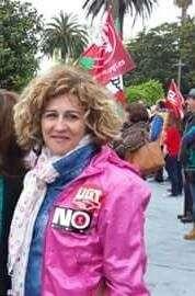 Ana José García, primera mujer al frente de UGT en el Ayuntamiento