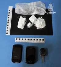 Detenido un joven en Burgos con 161 gramos de cocaína