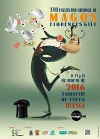 Tamarite de Litera invita a vivir un fin de semana 'mágicoh!' con el XVII Encuentro Nacional de Magos 'Florences Gili'