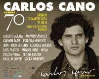 Cultura.-Miguel Ríos, Estrella Morente o Kiko Veneno reivindican este sábado a Carlos Cano en su 70 aniversario