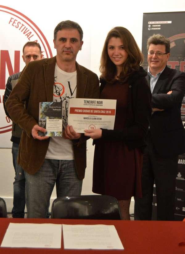 'Subsuelo', de Marcelo Luján, Premio Ciudad de Santa Cruz en Tenerife Noir