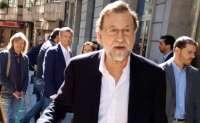 Rajoy, recibido en Pontevedra entre aplausos y gritos de