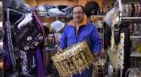 Los talleres de tambores de Albacete trabajan a destajo para tener todo listo de cara a las tamboradas de Semana Santa