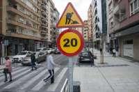 Se reduce la velocidad y se modifica pasos de cebra en la Avenida de la Concordia por su mal estado