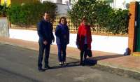 PSOE recorre el barrio Nueva Almería para conocer