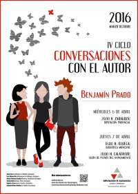 Benjamín Prado se encontrará con sus lectores en la capital aragonesa, Illueca y Calatayud