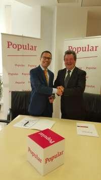 Popular y Facemap acuerdan impulsar la financiación a empresarios, comercios y autónomos de Málaga