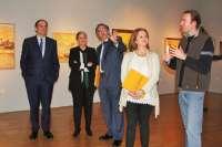 El Museo de Bellas Artes de Murcia recuerda la 'época amarilla' de Aurelio con la exposición de 60 de sus obras
