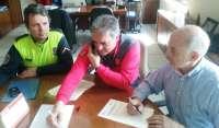 Policía Foral y Policía Municipal de Pamplona refuerzan su coordinación para atender accidentes de tráfico