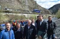 La Diputación de Lleida garantiza la limpieza periódica de tramos navegables del Noguera Pallaresa