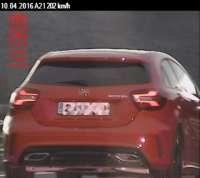 Denunciado por circular a 202 km/h en la Autovía del Pirineo, a la altura de Ibargoiti