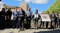 Los 5,5 millones de cupones de la ONCE del 23 de abril llevarán la imagen del Palacio de la Aljafería