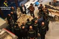 La Guardia Civil se forma en Dinópolis en materia de patrimonio paleontológico