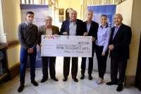El Maratón Cabberty Málaga 2015 dona 3.307 euros a la Fundación Autismo Sur