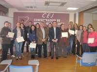 Una veintena de desempleados concluye su formación en dos cursos de la Junta que promueven la economía social