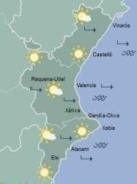 Cielos despejados y temperaturas en ascenso para abrir el fin de semana en la Comunitat