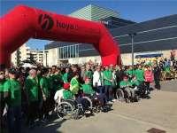Más de 6.000 personas se inscriben en la Marcha Aspace-Huesca que se celebrará el próximo domingo