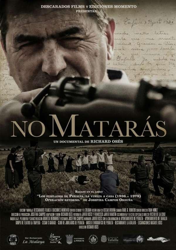 Estreno en Peralta de un documental de producción riojana sobre los fusilamientos
