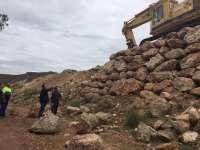 Diputación renueva el firme y ensancha un tramo de la carretera provincial AL-5401 entre Berja y Castala