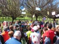 La Marcha 'Caminando por los Buenos Tratos' reclama la eliminación de la violencia de género