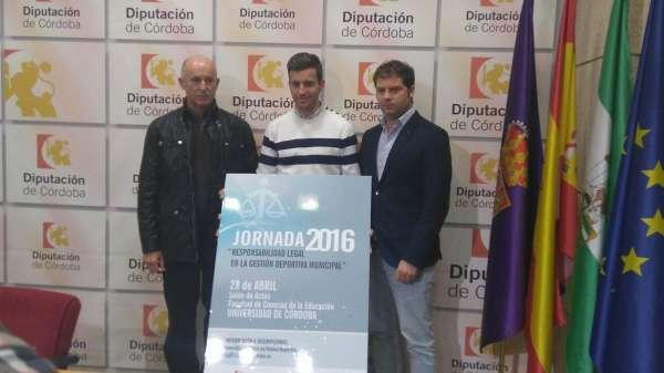 Diputación organiza una jornada sobre responsabilidad legal en la gestión deportiva