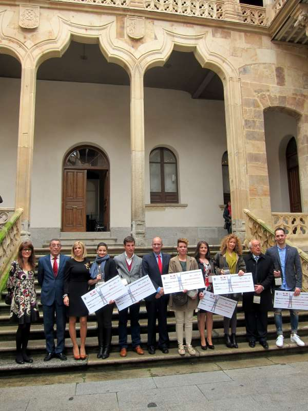 Una ganadería de Fuentes de Oñoro y una oficina de turismo en Sequeros, Premios Emprendedores Diputación de Salamanca
