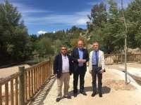 La Diputación respalda la construcción de la 'playa de Jauja' en la ribera del río Genil