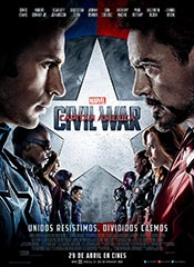 Capitán América: Civil War - Cartel