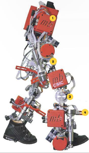 Así funciona un exoesqueleto infantil