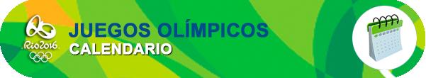 Calendario Juegos Olímpicos 2016