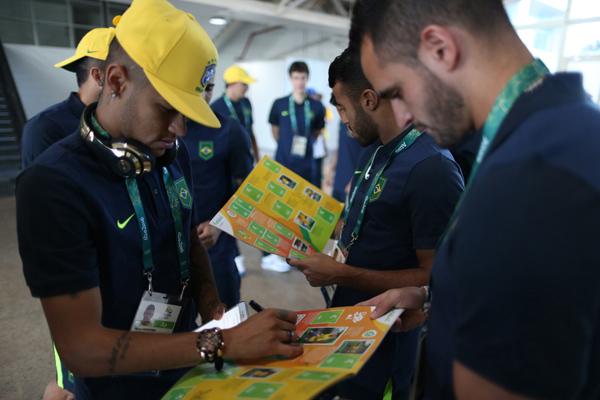Neymar en los Juegos Olímpicos de Río 2016.