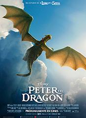 Peter y el dragón - Cartel