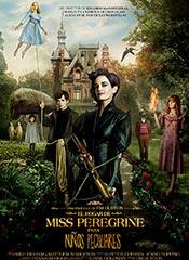 El hogar de Miss Peregrine para niños peculiares - Cartel