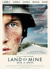 Land of mine: Bajo la arena - Cartel