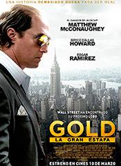 Gold (La gran estafa) - Cartel