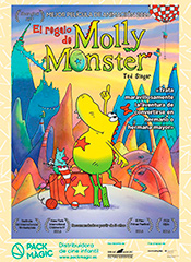 El regalo de Molly Monster - Cartel
