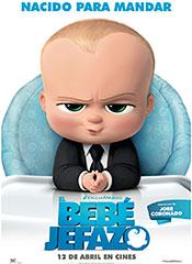 El bebé jefazo - Cartel