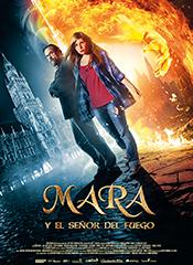 Mara y el señor del fuego - Cartel