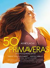 50 primaveras - Cartel