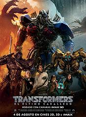 Transformers: El último caballero - Cartel