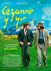 Cézanne y yo - Cartel