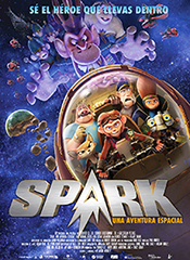 Spark, una aventura espacial - Cartel