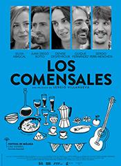 Los comensales - Cartel