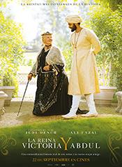 La reina Victoria y Abdul - Cartel